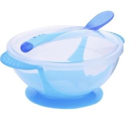 Sugekop skål til baby i Blå