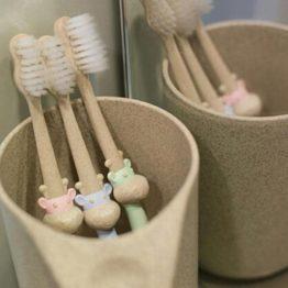 miljøvenlig tandbørste til børn